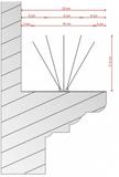 Madártüske K-5 10 m