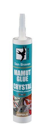 Den Braven MAMUT GLUE szerelőragasztó 290 ml, szín kristály 1183